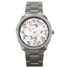 Soft Floral, Spring Sport Metal Watches