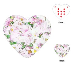 Soft Floral, Spring Playing Cards (heart)
