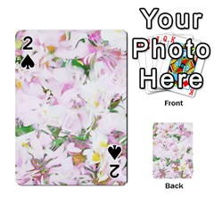 Soft Floral, Spring Playing Cards 54 Designs