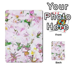Soft Floral, Spring Multi Purpose Cards (rectangle)