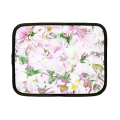 Soft Floral, Spring Netbook Case (Small)