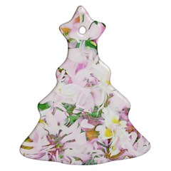 Soft Floral, Spring Christmas Tree Ornament (2 Sides)