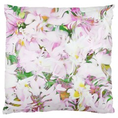 Soft Floral, Spring Large Cushion Cases (One Side)