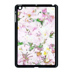 Soft Floral, Spring Apple iPad Mini Case (Black)