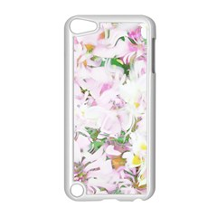 Soft Floral, Spring Apple iPod Touch 5 Case (White)