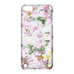 Soft Floral, Spring Apple iPod Touch 5 Hardshell Case with Stand