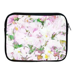 Soft Floral, Spring Apple iPad 2/3/4 Zipper Cases