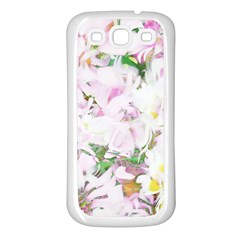 Soft Floral, Spring Samsung Galaxy S3 Back Case (White)