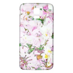 Soft Floral, Spring Samsung Galaxy S5 Back Case (White)