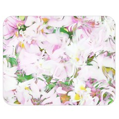 Soft Floral, Spring Double Sided Flano Blanket (medium)