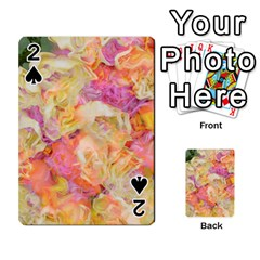 Soft Floral,roses Playing Cards 54 Designs