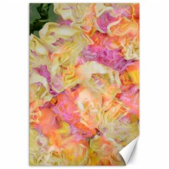 Soft Floral,roses Canvas 20  x 30