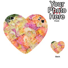Soft Floral,roses Playing Cards 54 (heart)