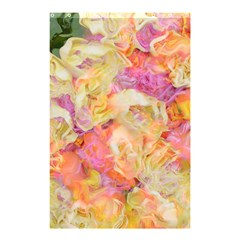 Soft Floral,roses Shower Curtain 48  x 72  (Small)