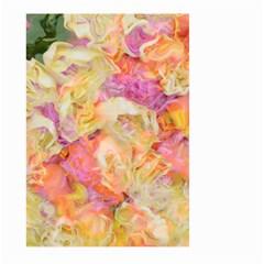 Soft Floral,roses Large Garden Flag (Two Sides)