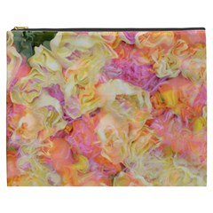 Soft Floral,roses Cosmetic Bag (xxxl)
