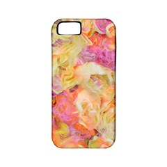 Soft Floral,roses Apple iPhone 5 Classic Hardshell Case (PC+Silicone)