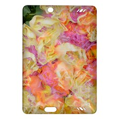 Soft Floral,roses Kindle Fire HD (2013) Hardshell Case