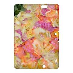 Soft Floral,roses Kindle Fire HDX 8.9  Hardshell Case