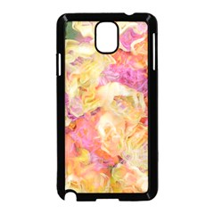 Soft Floral,roses Samsung Galaxy Note 3 Neo Hardshell Case (Black)