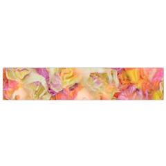 Soft Floral,roses Flano Scarf (Small)