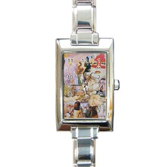Booboo Rectangle Italian Charm Watches