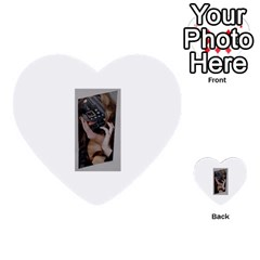 Chipped Multi-purpose Cards (Heart)