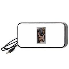Chipped Portable Speaker (Black)