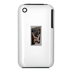 Chipped Apple iPhone 3G/3GS Hardshell Case (PC+Silicone)