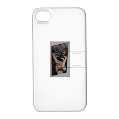 Chipped Apple iPhone 4/4S Hardshell Case with Stand