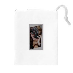 Chipped Drawstring Pouches (Extra Large)