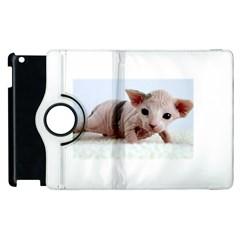 Sphynx Kitten Apple iPad 2 Flip 360 Case