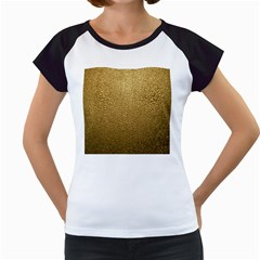 GOLD PLASTIC Women s Cap Sleeve T