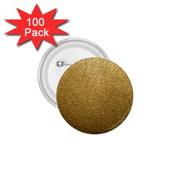 GOLD PLASTIC 1.75  Buttons (100 pack)