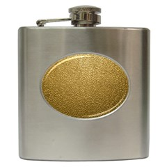 GOLD PLASTIC Hip Flask (6 oz)