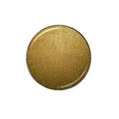 GOLD PLASTIC Hat Clip Ball Marker (4 pack)