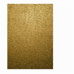 GOLD PLASTIC Large Garden Flag (Two Sides)
