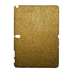 GOLD PLASTIC Samsung Galaxy Note 10.1 (P600) Hardshell Case