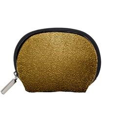 GOLD PLASTIC Accessory Pouches (Small)