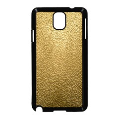 GOLD PLASTIC Samsung Galaxy Note 3 Neo Hardshell Case (Black)