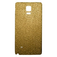 GOLD PLASTIC Galaxy Note 4 Back Case