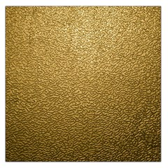 GOLD PLASTIC Large Satin Scarf (Square)