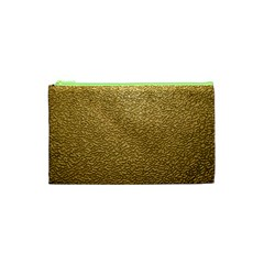 GOLD PLASTIC Cosmetic Bag (XS)