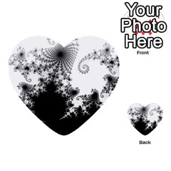 Fractal Multi Purpose Cards (heart)