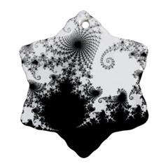 Fractal Snowflake Ornament (2 Side)