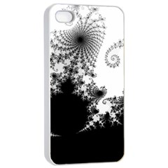 FRACTAL Apple iPhone 4/4s Seamless Case (White)