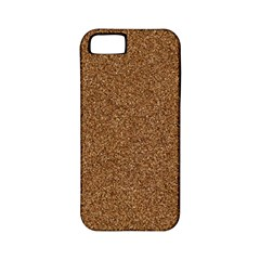DARK BROWN SAND TEXTURE Apple iPhone 5 Classic Hardshell Case (PC+Silicone)