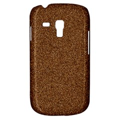 DARK BROWN SAND TEXTURE Samsung Galaxy S3 MINI I8190 Hardshell Case
