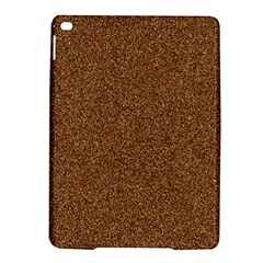 DARK BROWN SAND TEXTURE iPad Air 2 Hardshell Cases