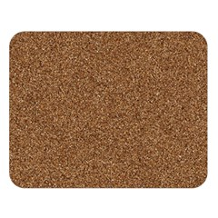 Dark Brown Sand Texture Double Sided Flano Blanket (large)